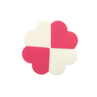 Make-up sponge Hearts 4 pcs