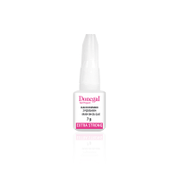 Transparent nail glue with...