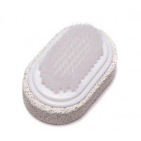 Foot brush with pumice stone