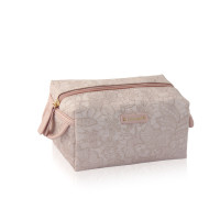 Pink cosmetic bag