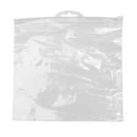 Transparent toiletry bag...