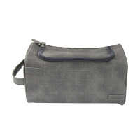 Graphite cosmetic bag for...