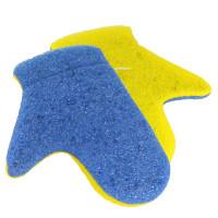 Bath and massage glove