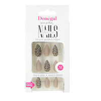 Artificial nails leopard 24...