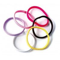 Ponytail holders 6 pcs