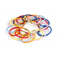 Ponytail holders 24 pcs.